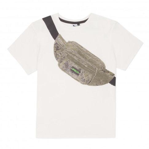 T-Shirt blanc 3Pommes