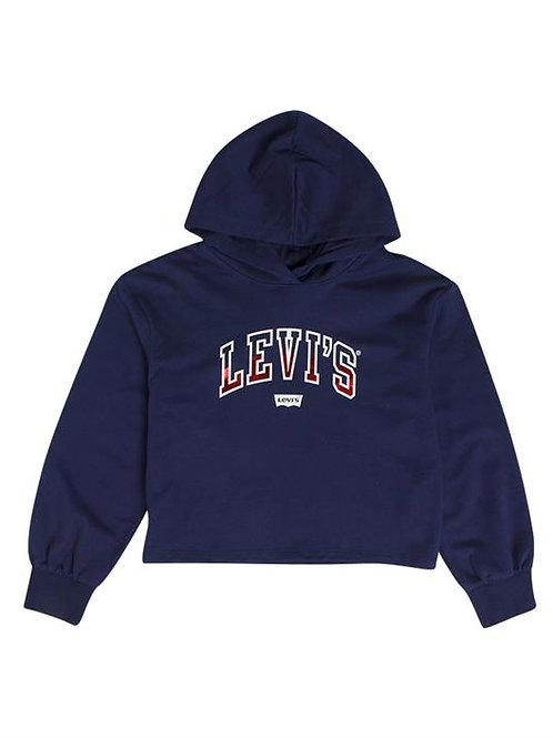Sweat à capuche bleu Levi's