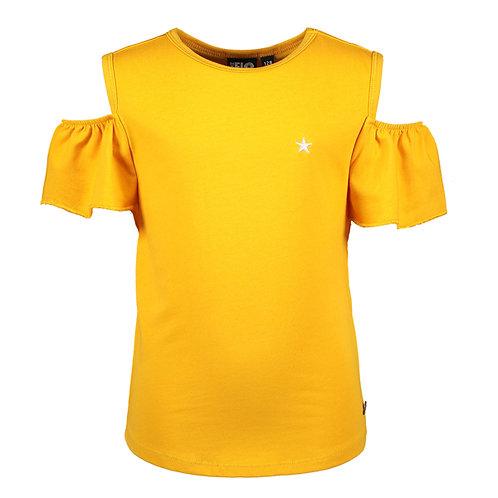 T-shirt jaune Like Flo