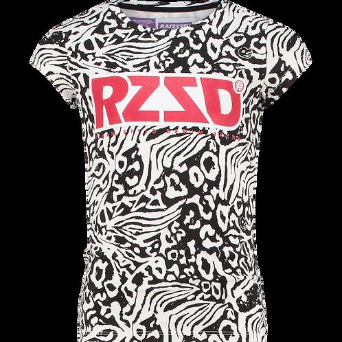 T-Shirt noir et blanc Raizzed