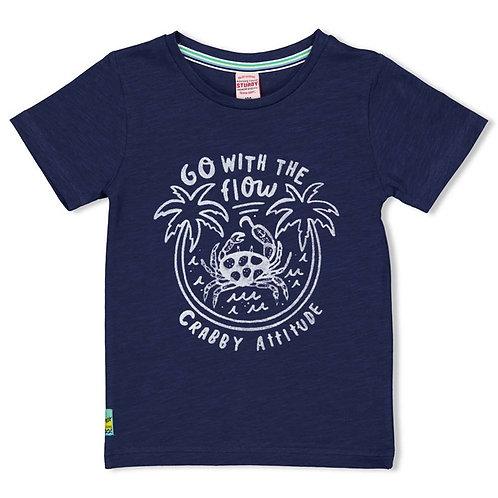 T-Shirt marine Sturdy