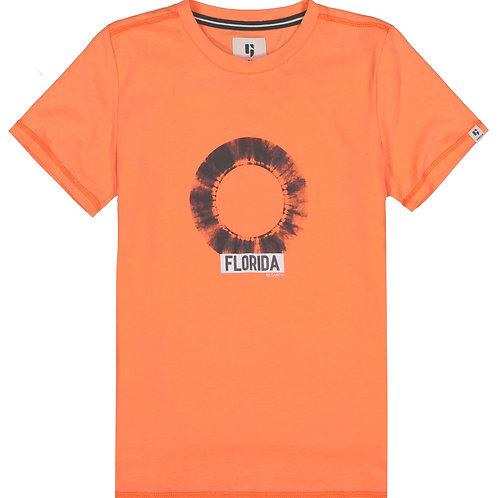 T-Shirt orange Garcia