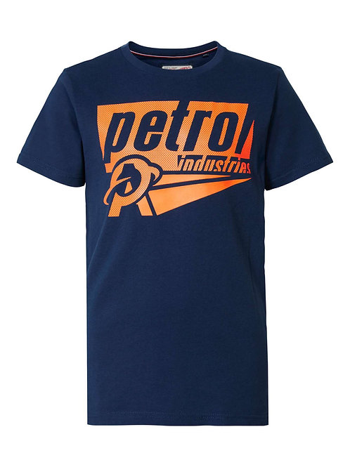 T-Shirt marine Petrol