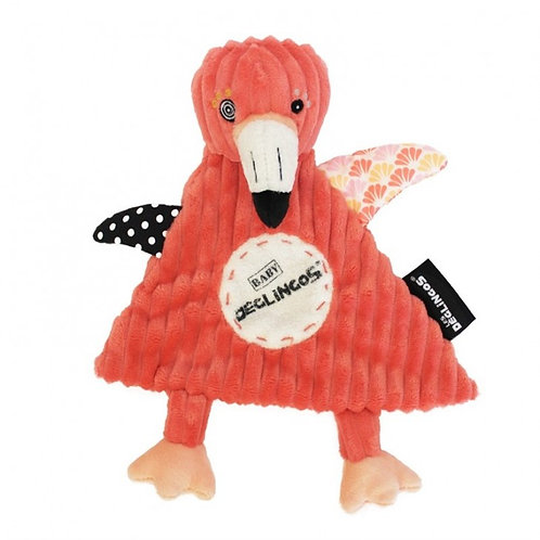 Expand Doudou Baby Flamingos le flamant rose