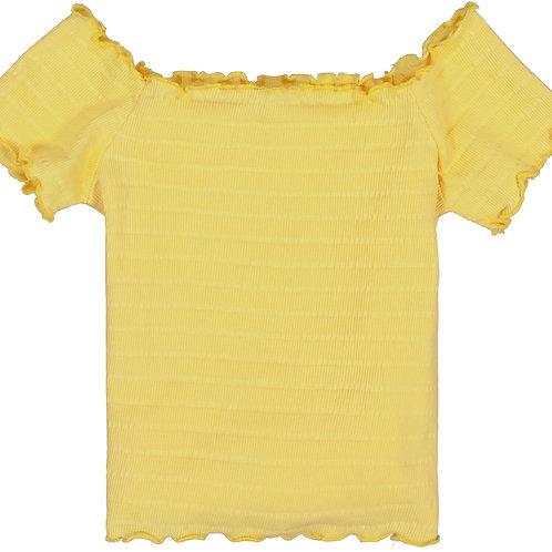 Blouse jaune Garcia