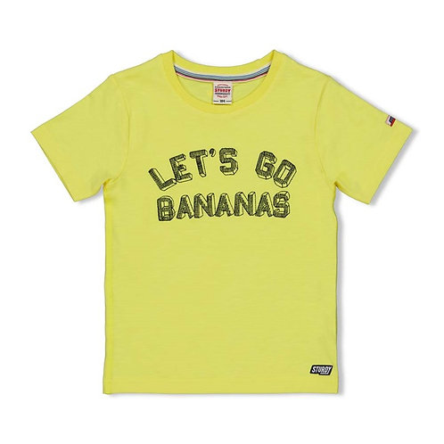 T-Shirt jaune Sturdy