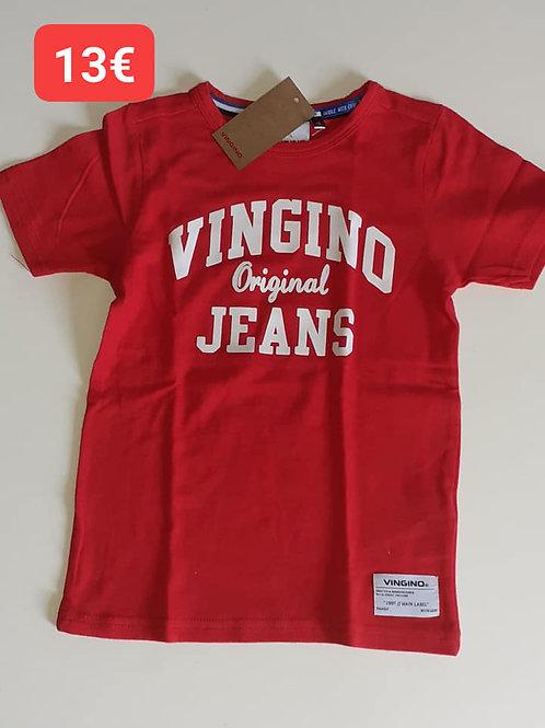 T-Shirt rouge Vingino
