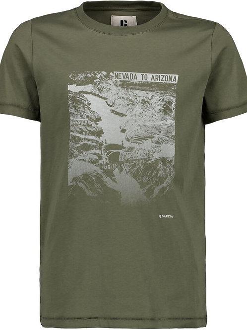 T-Shirt kaki Garcia