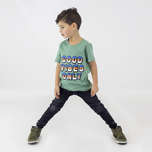 T-Shirt vert KMDB