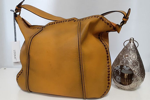 Sac synthétique ocre