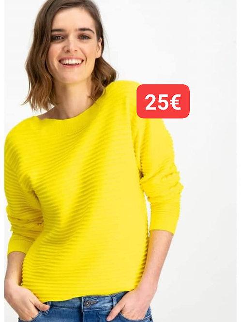 Pull jaune Garcia