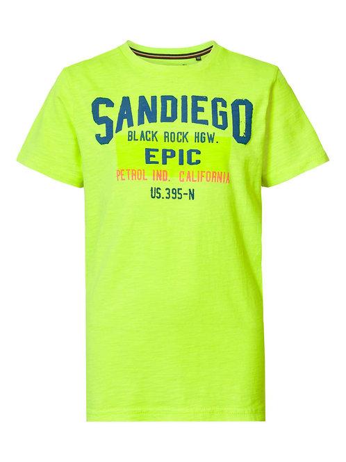 T-shirt fluo Petrol