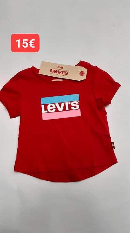 T-Shirt rouge Levi's