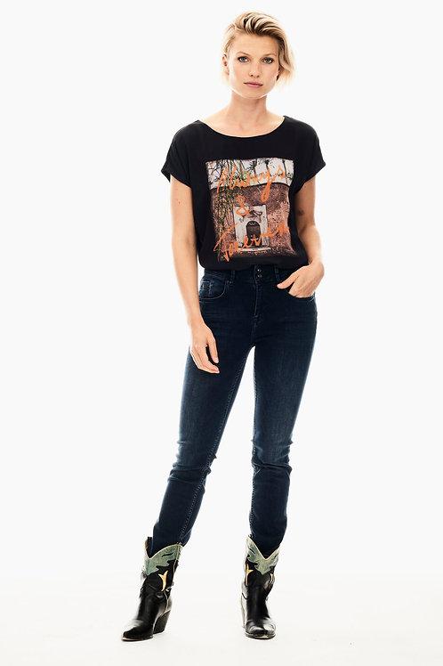 T-Shirt noir Garcia