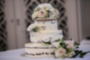 Wedding cake.Wedding reception. QVB Tea Room.