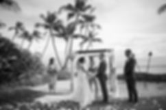 Sydney wedding photographer. Grant Hoskinson Photography. Wedding ceremony at Sugar Beach Events, Maui, Hawaii.