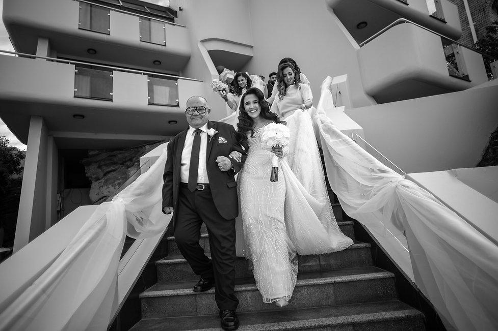 Wedding photography by best Sydney wedding photographer, Grant Hoskinson Photography. Bride's gown by Steven Khalil. Wedding Reception at Doltone House Jones Bay Wharf.