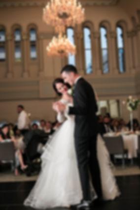 Bridal Waltz. Wedding reception. QVB Tea Room.