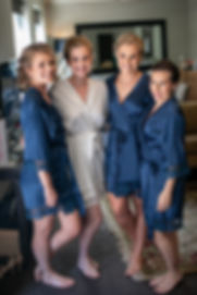 Bride and brides maids getting ready at Gibraltar Hotel, Bowral. Wedding photography by best sydney wedding photographer, Grant Hoskinson Photography.