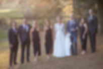 Bride and groom and bridal party on location at at Gibraltar Hotel, Bowral. Wedding photography by best sydney wedding photographer, Grant Hoskinson Photography.