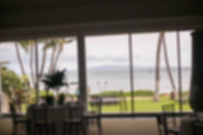 Wedding reception. Sugar Beach Events. Maui, Hawaii.