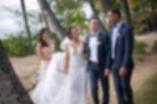 Bridal party location photo. Maui Hawaii.