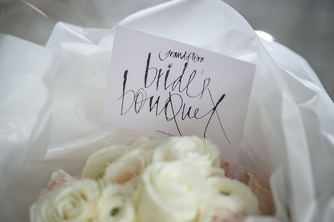 Bride's wedding bouquet. Wedding photography by best sydney wedding photographer, Grant Hoskinson Photography.