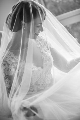 Portrait of the bride. Wedding photgraphy by Sydney wedding photographer Grant Hoskinson Photography.