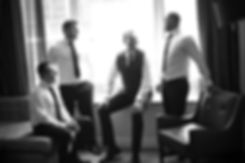 Beautiful wedding photography by best Sydney wedding photographer, Grant Hoskinson Photography. Groom and groomsmen before ceremony
