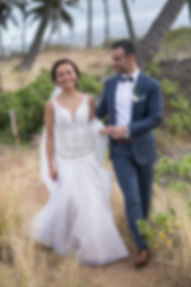 Sydney wedding photographer. Grant Hoskinson Photography. Bride and groom location photos. Maui, Hawaii.