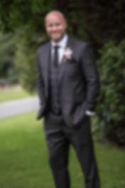 Beautiful wedding photography by popular wedding photographer, Grant Hoskinson Photography. Grooms portrait. Royal Botanic Gardens, Melbourne.