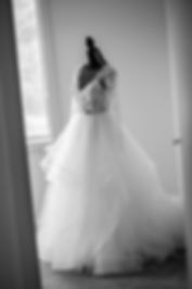 Weddng dress by Hayley Paige. Wedding photography by Sydney wedding photographer, Grant Hoskinson Photography.