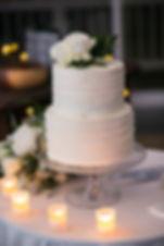 Wedding cake. Wedding reception. Sugar Beach Events. Maui, Hawaii.