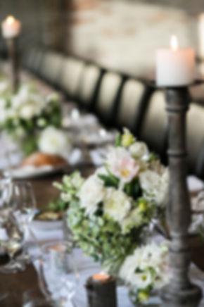 Wedding Reception Room. Stones of the Yarra Valley.