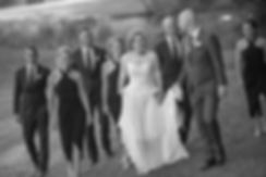 Bride and groom with bridal party on location at at Gibraltar Hotel, Bowral. Wedding photography by best sydney wedding photographer, Grant Hoskinson Photography.