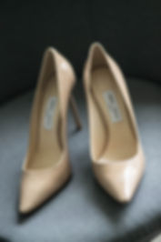 Bride's wedding shoes. Wedding photography by Sydney wedding photographer Grant Hoskinson Photography.