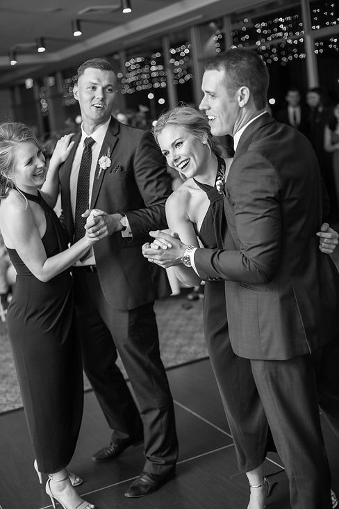 Dancing at wedding reception at Gibraltar Hotel, Bowral. Wedding photography by best sydney wedding photographer, Grant Hoskinson Photography.