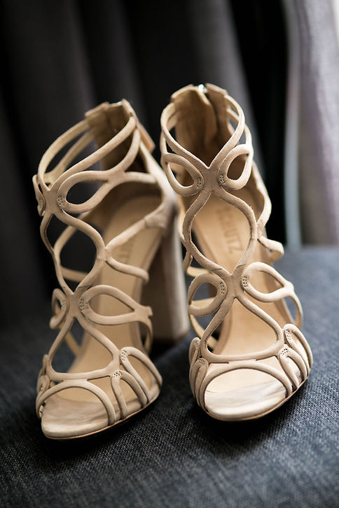 Beautiful wedding photography by best sydney wedding photographer, Grant Hoskinson Photography. Bride's shoes