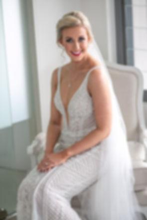 Bride's portrait. Wedding photography by best sydney wedding photographer, Grant Hoskinson Photography.