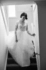 Bride getting ready at home. Wedding photography by Sydney wedding photographer Grant Hoskinson Photography.