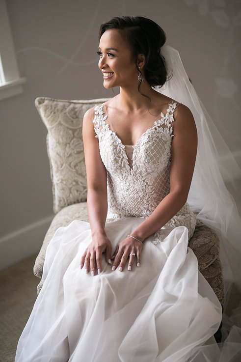 Sydney wedding photographer. Grant Hoskinson Photography. Portrait of the bride.