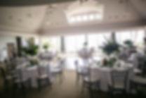 Dining room for wedding reception.Wedding reception. Sugar Beach Events. Maui, Hawaii.