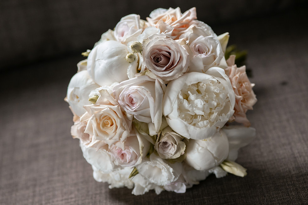 Brides's wedding bouquet. Wedding photography by best sydney wedding photographer, Grant Hoskinson Photography.