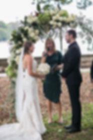 Beautiful wedding photography by best Sydney wedding photographer, Grant Hoskinson Photography. Wedding ceremony at Botanic Gardens, Sydney.