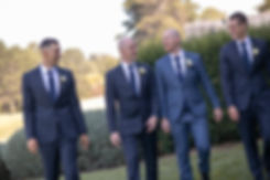 Groom and groomsmen before the ceremony at Gibraltar Hotel, Bowral. Wedding photography by best sydney wedding photographer, Grant Hoskinson Photography.