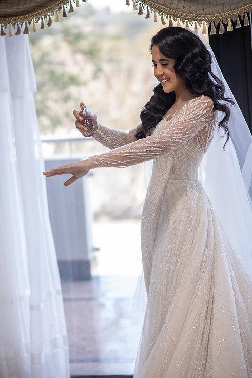 Joy perfume. Wedding photography by best Sydney wedding photographer, Grant Hoskinson Photography. Bride's gown by Steven Khalil. Wedding Reception at Doltone House Jones Bay Wharf.