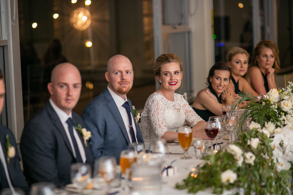 Wedding reception at Gibraltar Hotel, Bowral. Wedding photography by best sydney wedding photographer, Grant Hoskinson Photography.