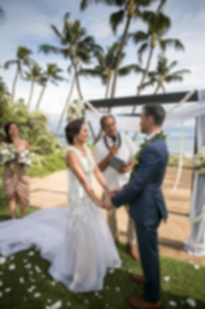Sydney wedding photographer. Grant Hoskinson Photography. Wedding ceremony. Exchange of vows.