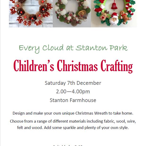 KIds Christmas Crafting Workshop