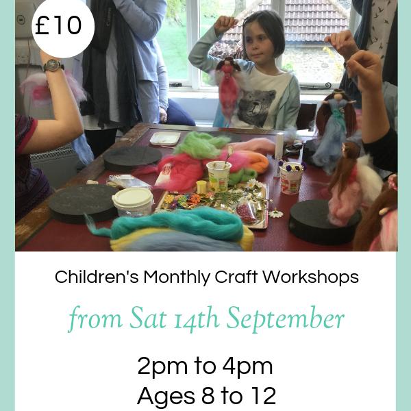 Children's Monthly Craft Workshops